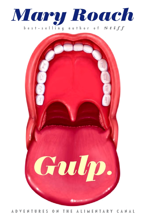 Chip Kidd - Gulp by Mary Roach