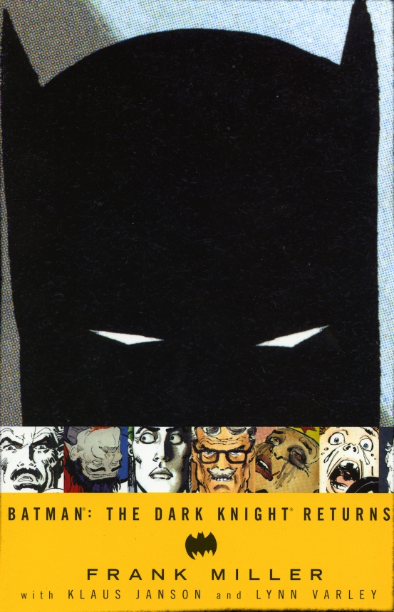 Chip Kidd - The Dark Knight Returns by Frank Miller