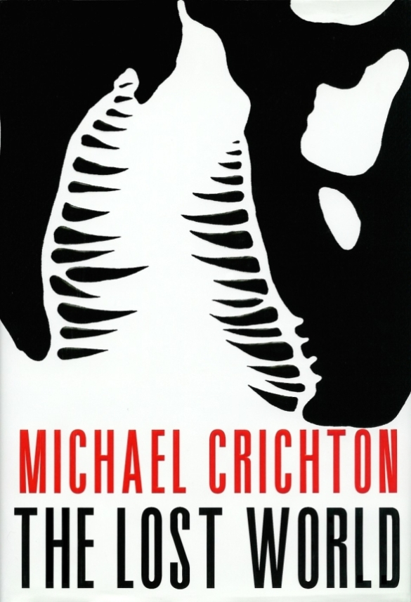 Chip Kidd - The Lost World by Michael Crichton